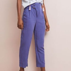 anthro | cupro wrap trousers